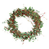 Gisela Graham Variegated Holly Wreath
