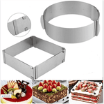 Adjustable Size Cake Moulds