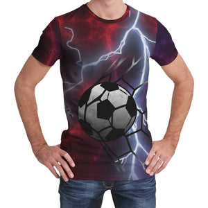 All Over T Shirt for Football and Soccer Fans