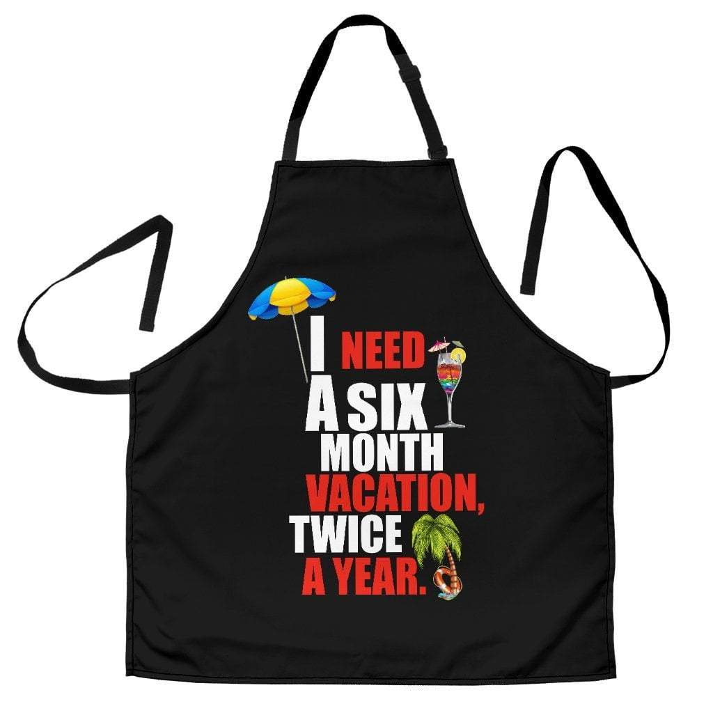 Designer Apron for Vacationers