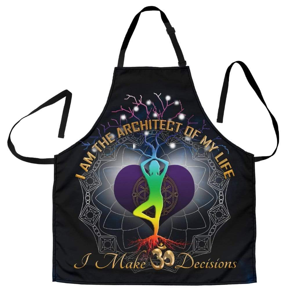 om sign custom aprons