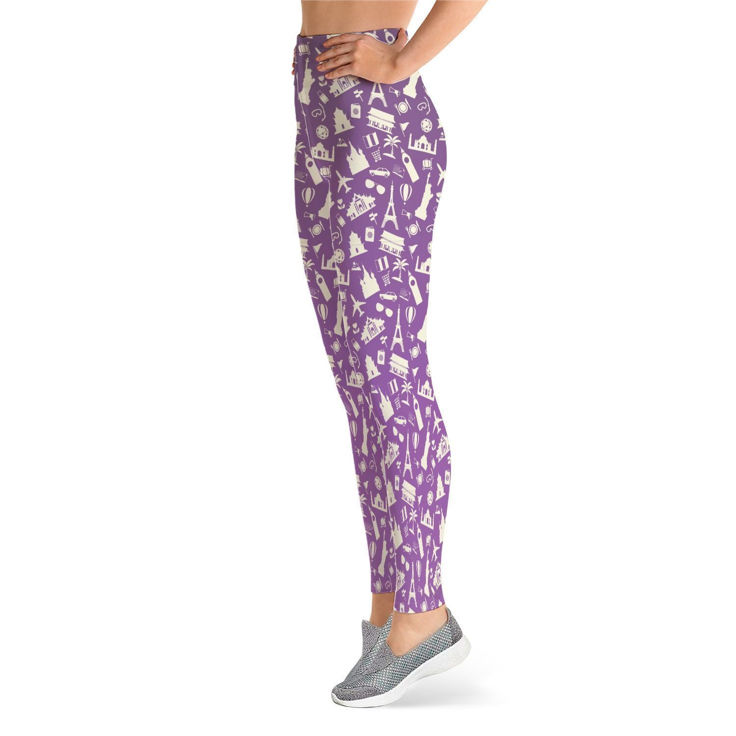 Fashion Leggings - Fashion Leggings - The Globe Trotter's Choice