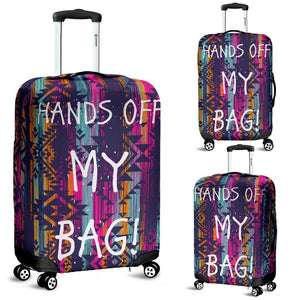custom made luggage cover protector and suitcase covers -Aztech pattern
