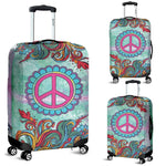 Hippie Peace Luggage Cover