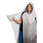 Premium Hooded Blanket with Mittens - Think Outside, No Box Required