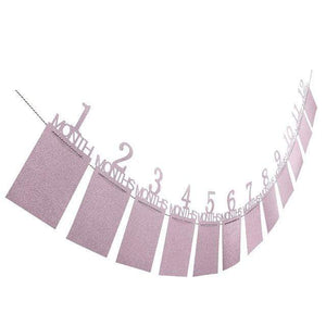 Baby Birthday Decorations (Numbers in Pink and Blue)