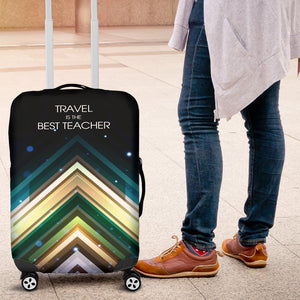 Luggage Cover- Travel Is The Best Teacher