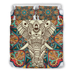 Mandala Elephant 3 Bedding Set.