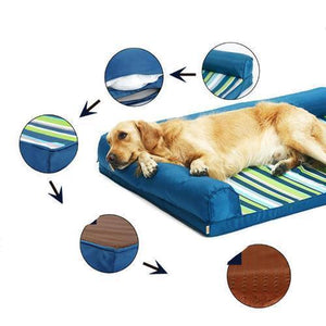 Pet Couch - Orthopedic Pet Couch - The Only Way To Sleep