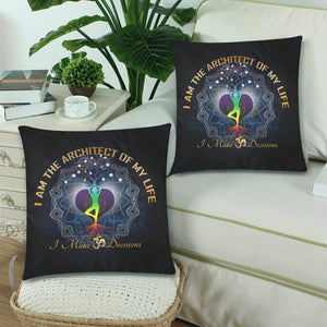"Cushion Covers (18"" x 18"" )- Om Decisions"