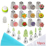 Russian Piping Nozzle and Leaf Tips (32 piece set)