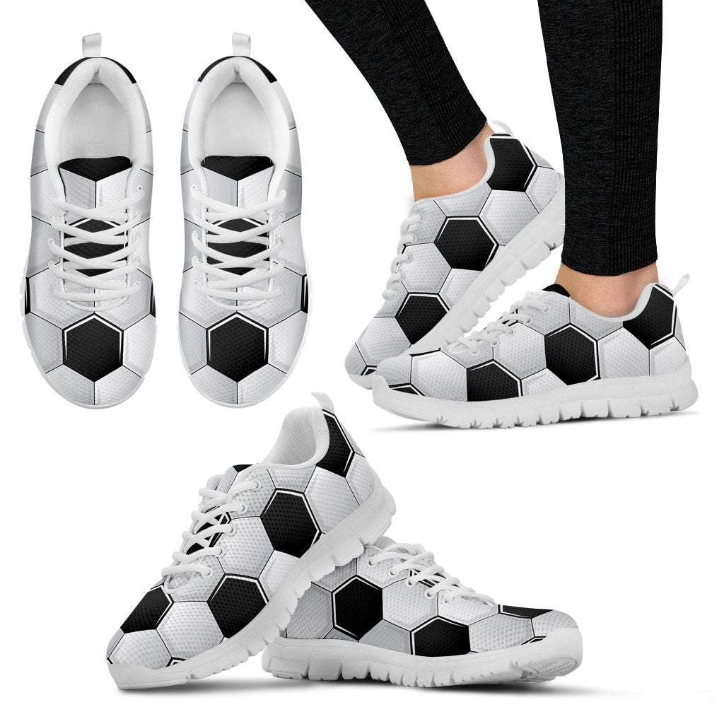 Soccer Ball Women's Sneakers