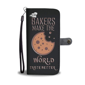 Wallet Phone case - Bakers Make the World Taste Better
