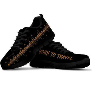 Women's Sneakers - Born To Travel
