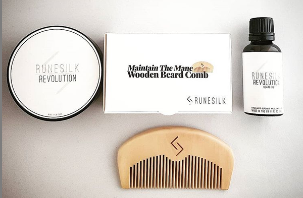 Runesilk Revolution Beard Care | Made in the UK