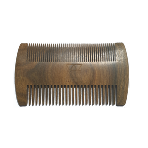 Elements Beard and Moustache Sandalwood Comb