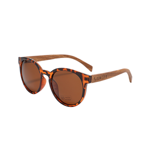 Parker Tortoiseshell | Polarised Wooden Sunglasses by RUNESILK
