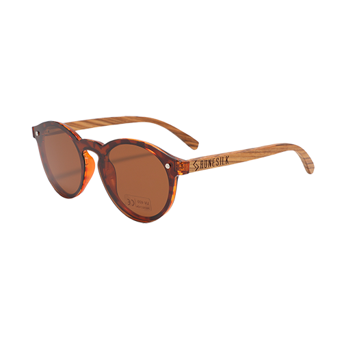 Modern Parker Tortoiseshell | Polarised Wooden Sunglasses by RUNESILK