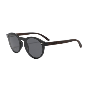 Modern Parker Black | Polarised Wooden Sunglasses by RUNESILK
