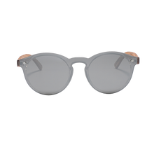 Load image into Gallery viewer, Modern Parker Black | Polarised Wooden Sunglasses by RUNESILK