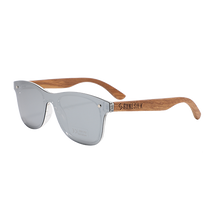 Load image into Gallery viewer, Classic Modernist | Polarised Wooden Sunglasses by RUNESILK