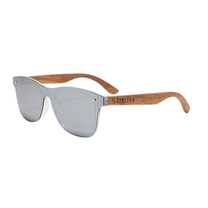 Classic Modernist | Polarised Wooden Sunglasses by RUNESILK