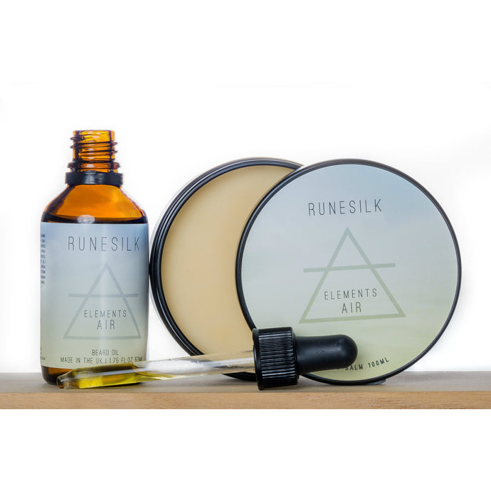 Elements Air Beard Oil and Balm Combo