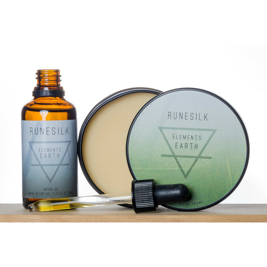 Elements Earth Beard Oil and Balm Combo