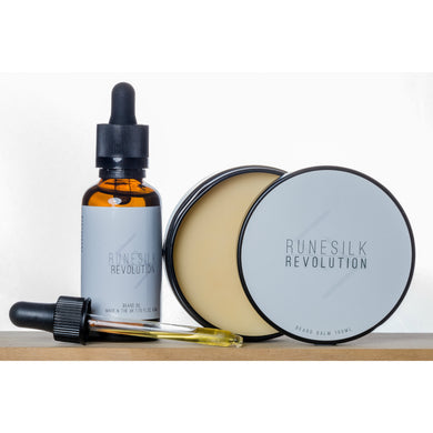 Revolution Beard Oil and Balm Combo
