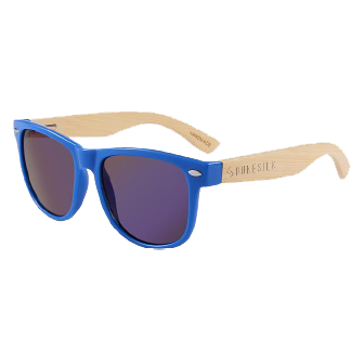 Blue Bamboo Sunglasses by RUNESILK
