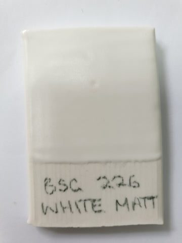 BSG226 Matt White (Stoneware Brush On Glaze)