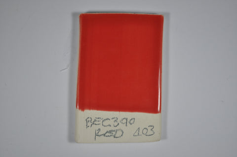 BEG399 Red (Brush on Glaze)