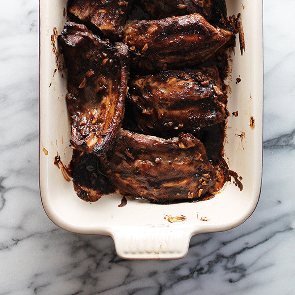 Apple Hoisin Roasted Pork Ribs