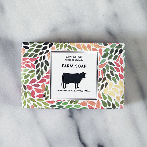 Grapefruit Soap with Rosemary