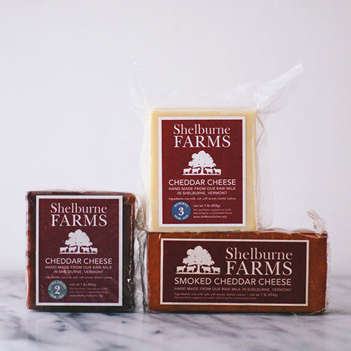Shelburne Farms Cheddar Triple Play