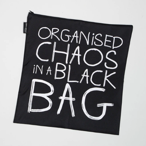 Organised Chaos in a Black Bag
