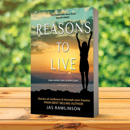 PRESALE: Reasons to Live: One More Day Every Day Vol. 3 Bundle (Book, Bag & Necklace)