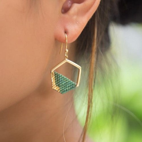 Hope Earrings - Teal