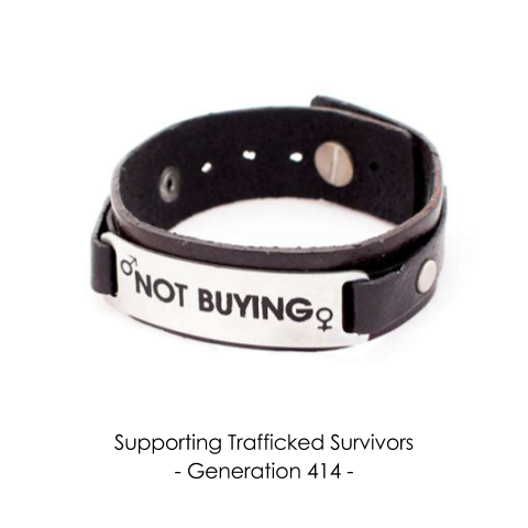 Not Buying Leather Wristband