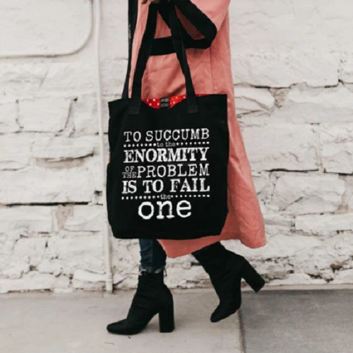 """To Succumb"" Tote Bag"