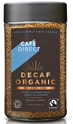 Cafe Direct - Fair Trade Organic Decaf Instant Coffee 100g