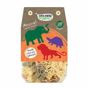 Little Pasta Organics Animal Shaped Pasta 250g