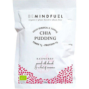 BeMindFuel Chia Pudding Mix - Raspberry 1 Servings