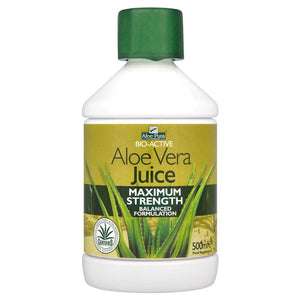 Aloe Pura Bio-Active Aloe Vera Juice Maximum Strength 500ml