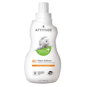 Attitude Fabric Softener Citrus Zest 1L | 40 Washes