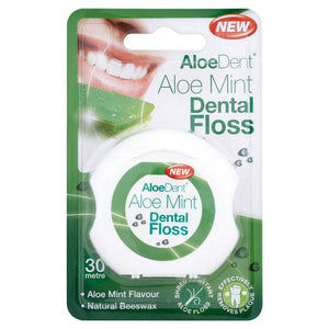 Ransom Aloe Dent Aloe Mint Dental Floss 30 Metre