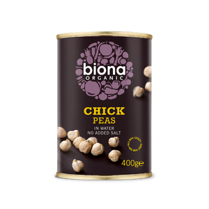 Biona Organic Chick Peas in Water 400g