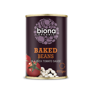 Biona Organic Baked Beans in a Rich Tomato Sauce