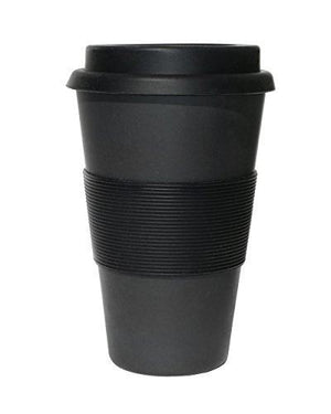 Ecoffee Cup Blackout Reusable Coffee Cup 400 ML
