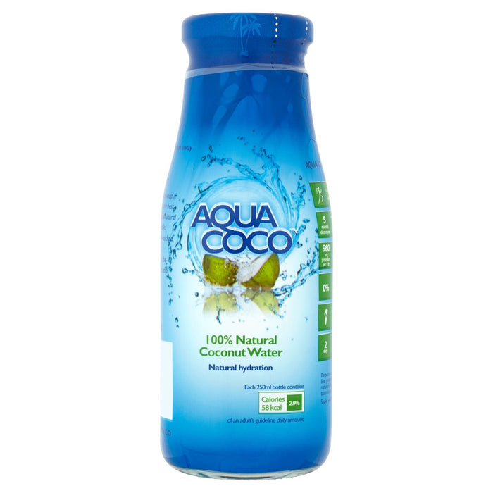 Aqua Coco 100% Natural Coconut Water 250ml